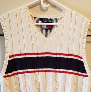 Vintage mens tommy Hilfiger sweater vest